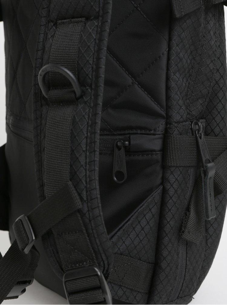 Rucsac barbatesc negru cu detalii din piele Eastpak Series 16 l