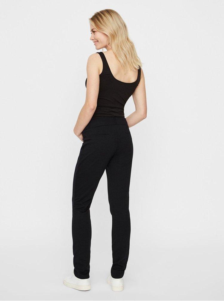 Pantaloni sport negri pentru gravide Mama.licious Alba