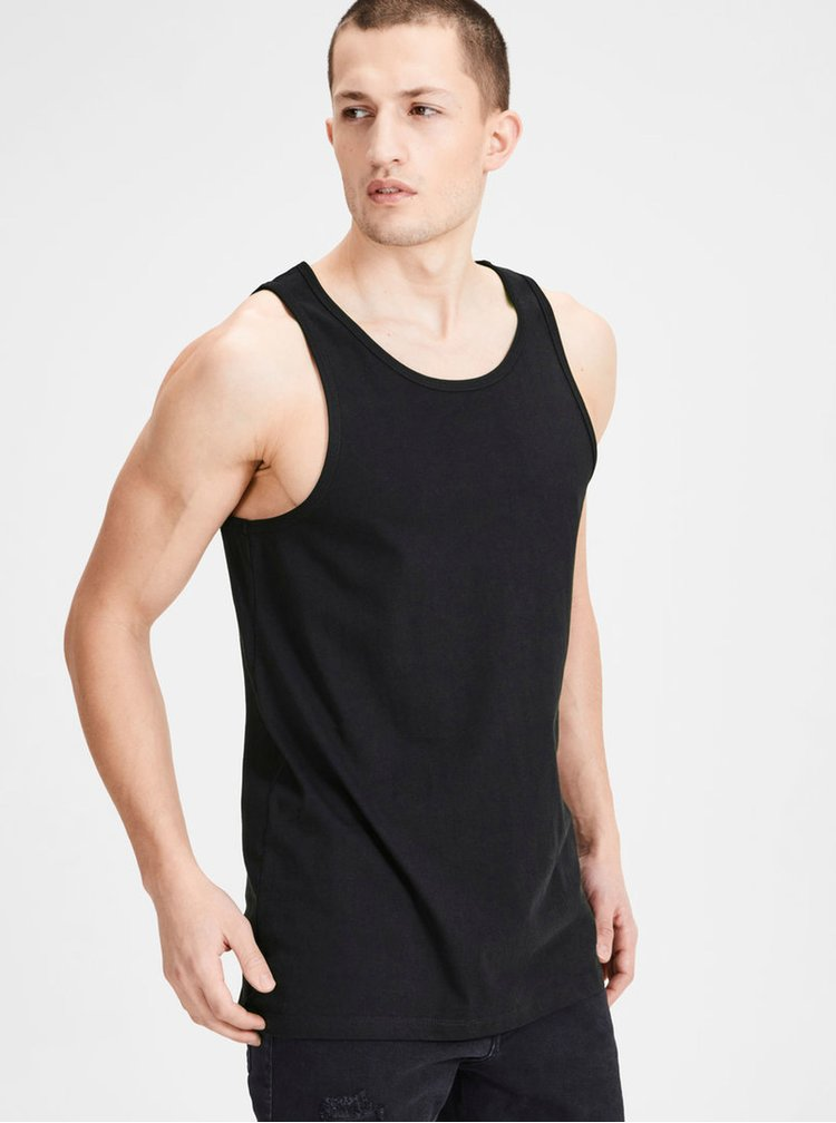Set de 2 maiou basic negru Jack & Jones