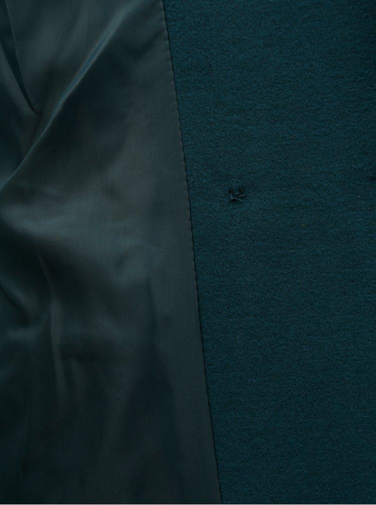 Petrolejový kabát Miss Selfridge