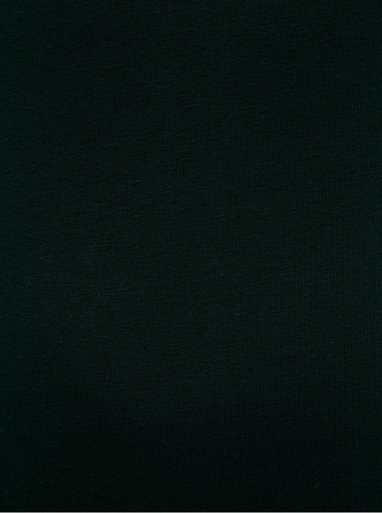 Body verde inchis cu maneci 3/4 ZOOT