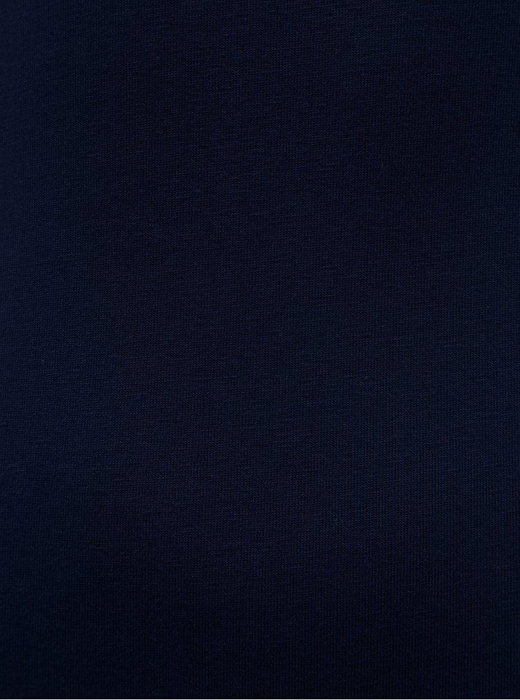 Body albastru inchis cu maneci 3/4 ZOOT