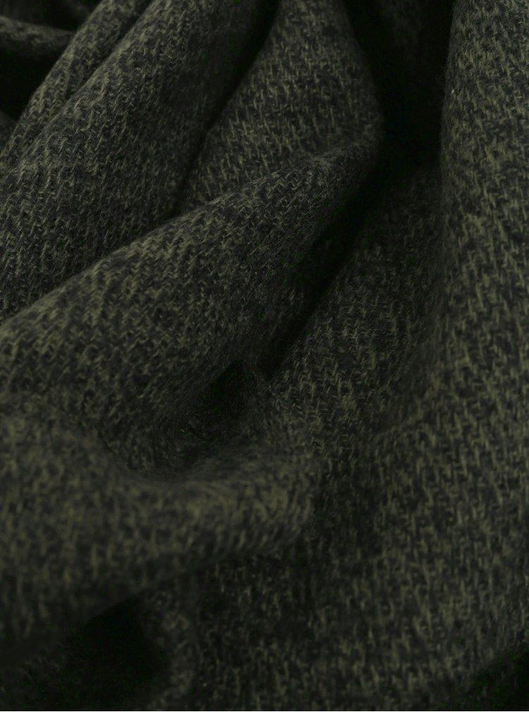 Fular verde inchis melanj Jack & Jones