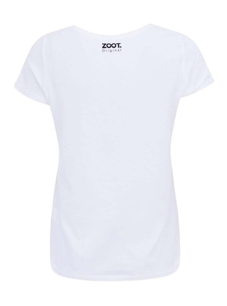 Bílé dámské tričko ZOOT Originál Její strana srdce
