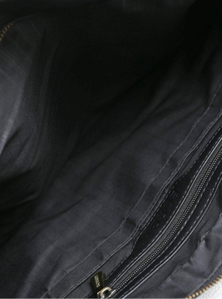 Geanta neagra pentru calatorii din imitatie de piele Bobby Black