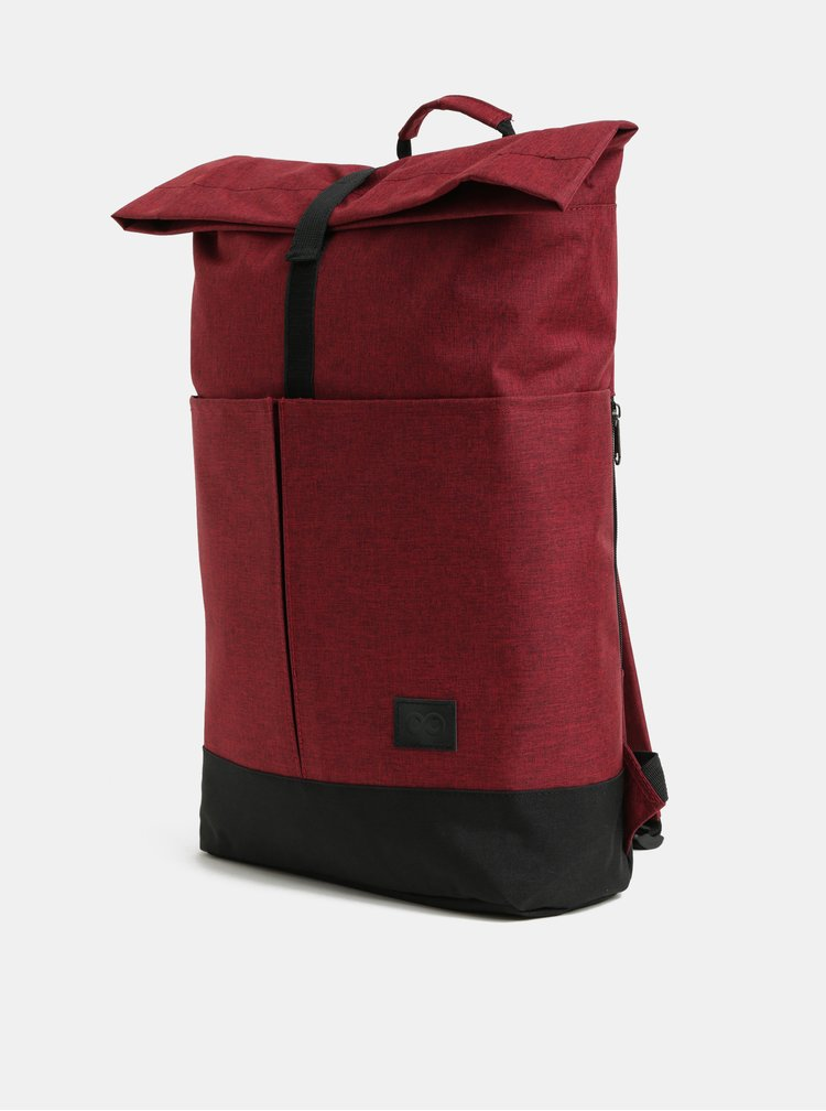 Vínový žíhaný batoh ZOOT