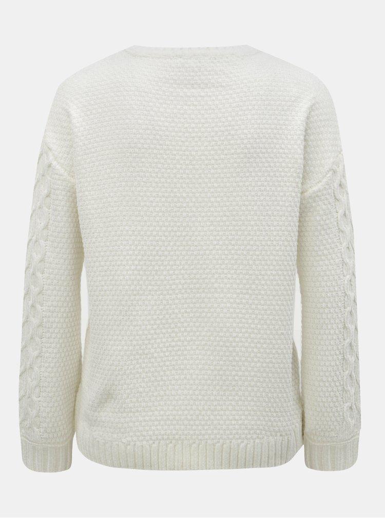 Bílý dámský svetr Tom Tailor