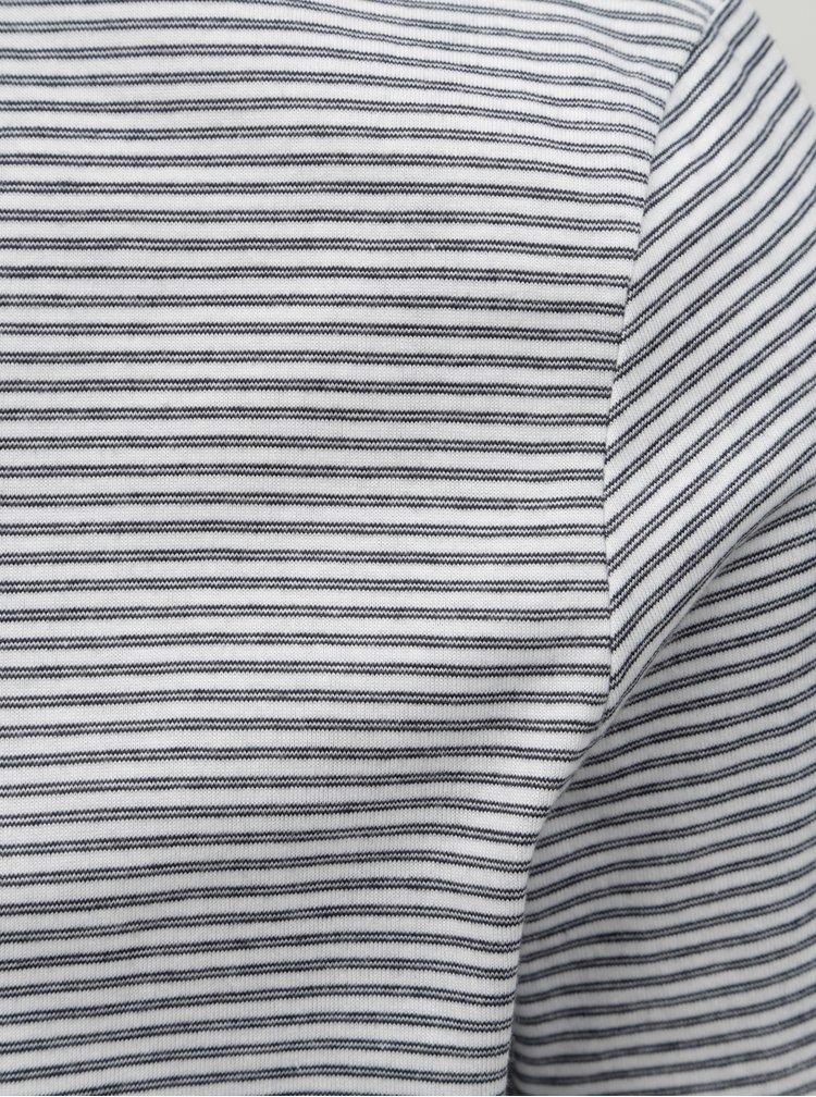 Tricou barbatesc albastru-alb in dungi Tom Tailor