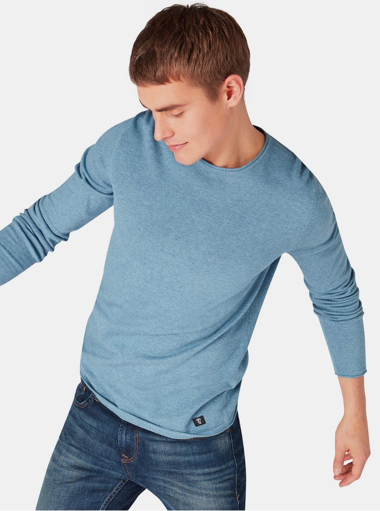 Modrý pánský lehký svetr Tom Tailor Denim