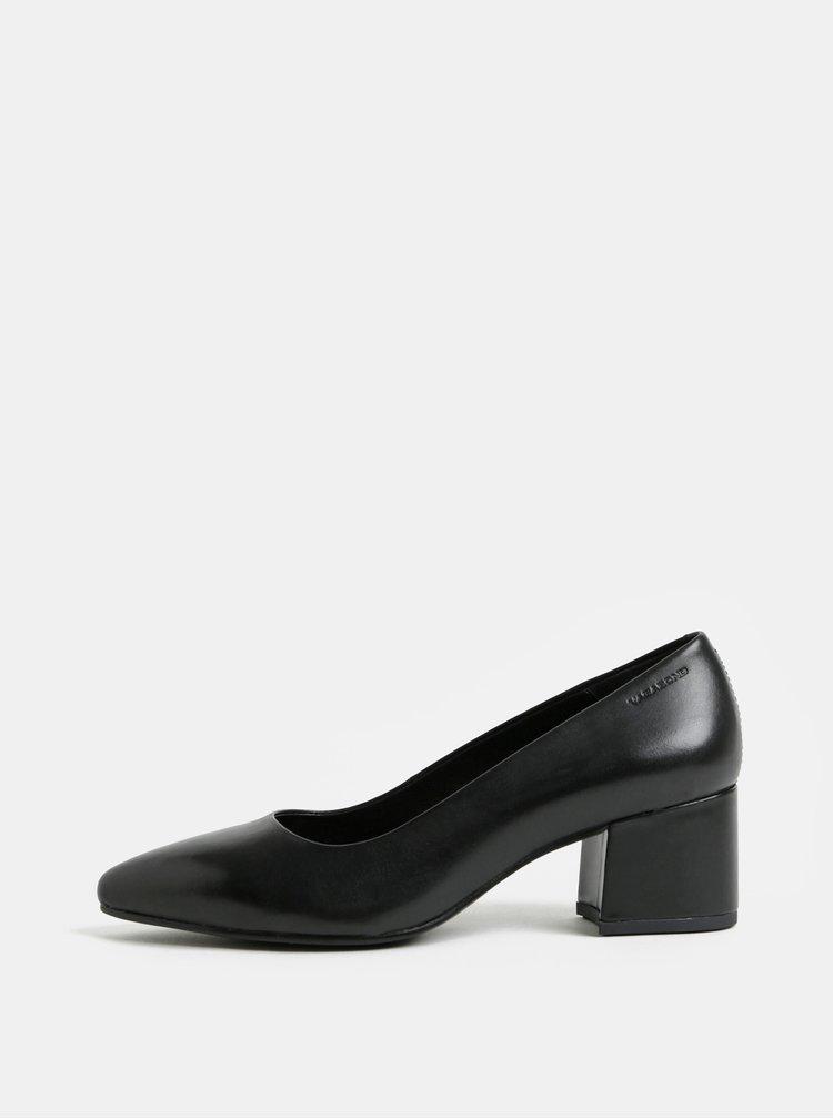 Pantofi negri din piele Vagabond Mya