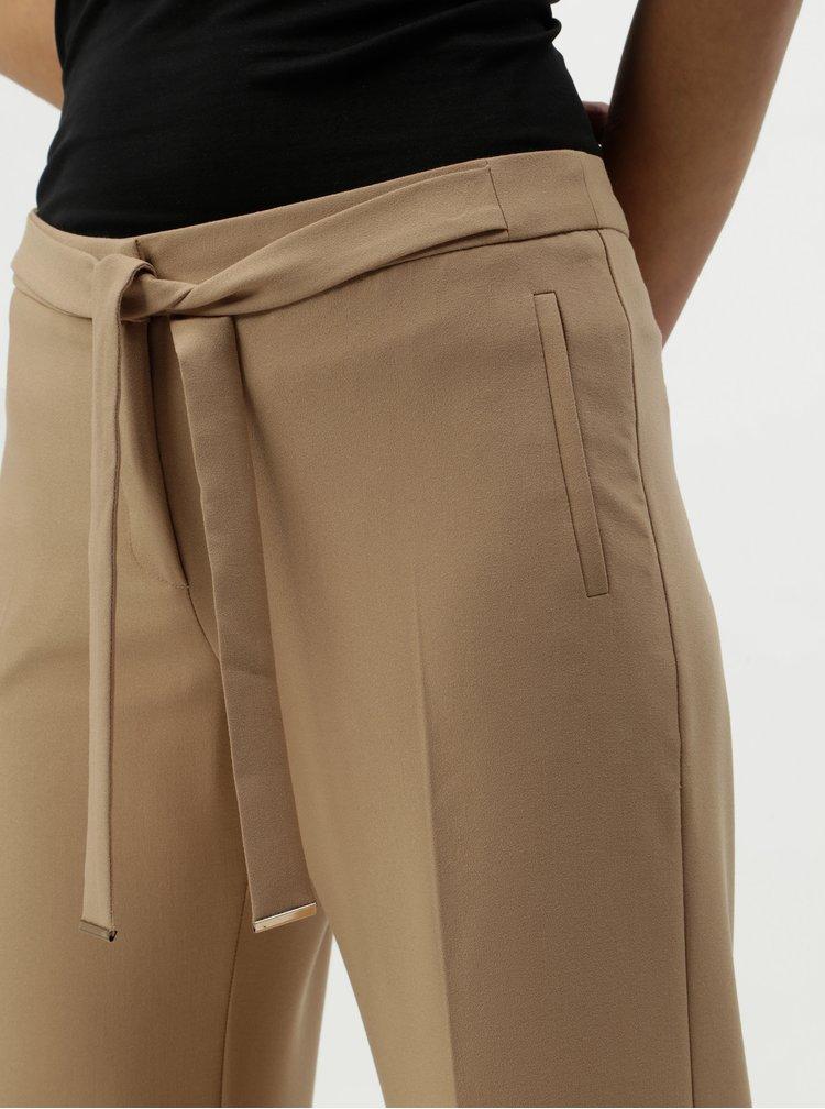 Pantaloni bej cu snururi Oasis Ultimate