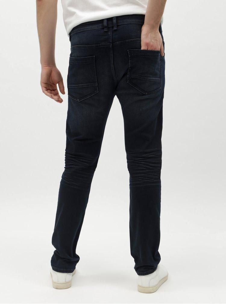 Tmavě modré pánské slim džíny Tom Tailor