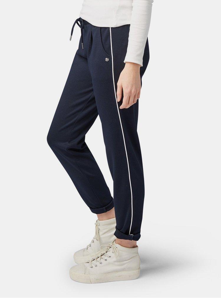 Pantaloni albastru inchis de dama Tom Tailor Denim