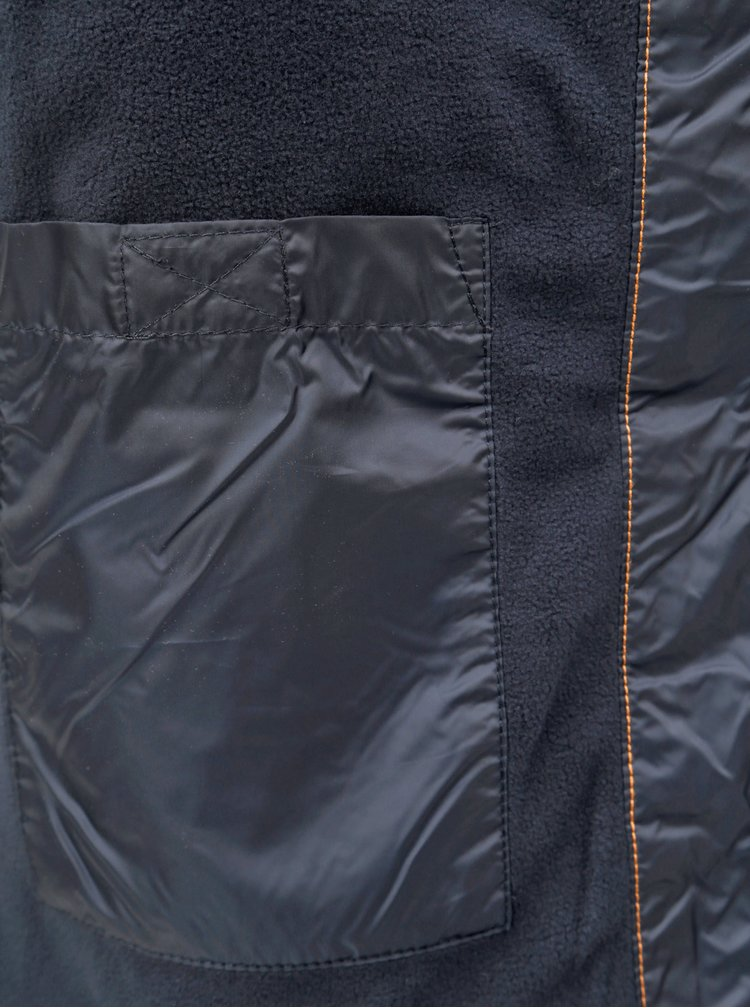 Jacheta impermeabila barbateasca albastru inchis Tom Tailor Denim