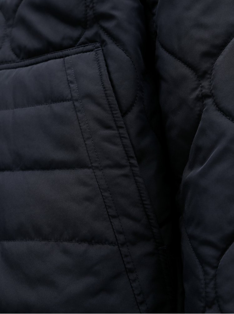 Jacheta bomber albastru inchis matlasata de iarna ONLY & SONS Alex