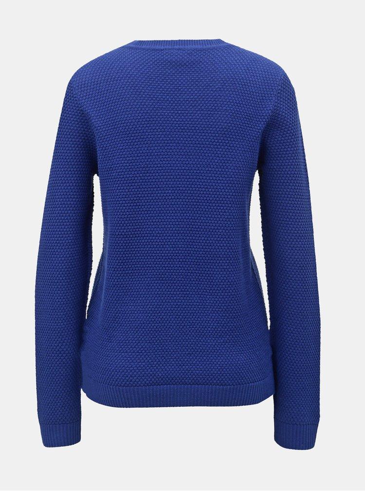 Modrý sveter VILA Chassa