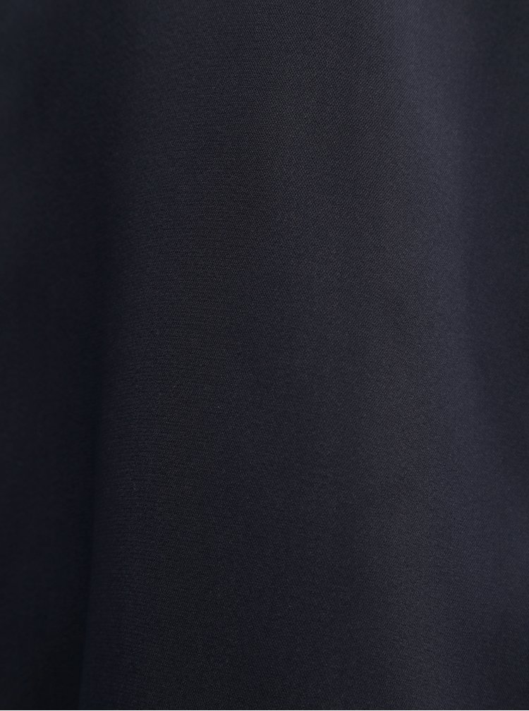 Top albastru inchis cu detalii din dantela VERO MODA Tuva