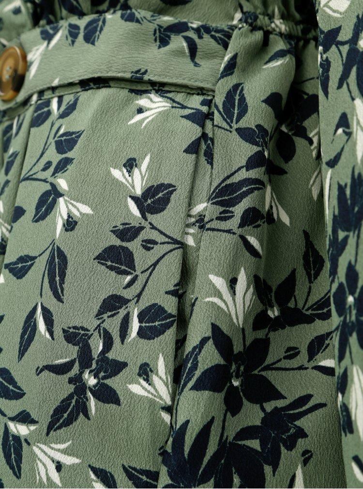 Rochie verde florala VERO MODA Viola