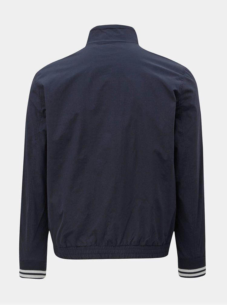 Jacheta albastru inchis lejera Jack & Jones Ocean