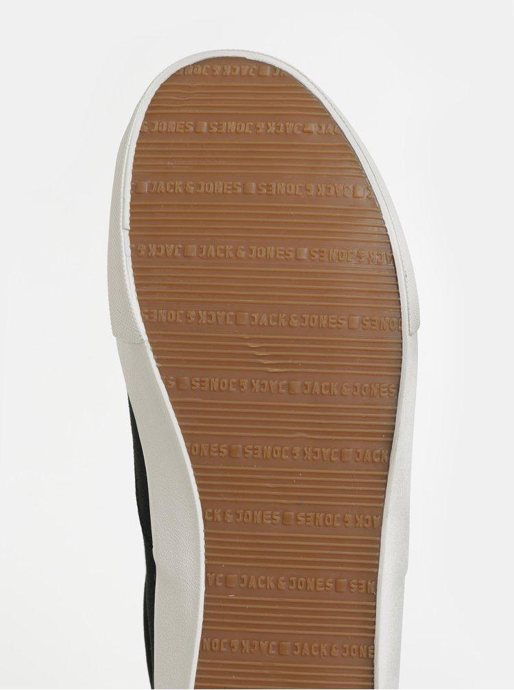 Pantofi sport barbatesti negri Jack & Jones Vision