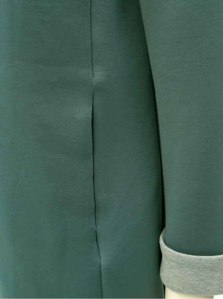 Zelená dlouhá mikina ONLY Lena