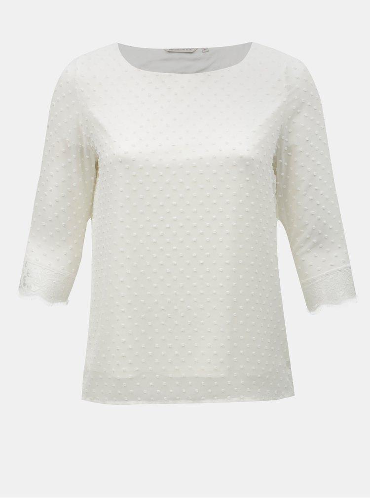 Bílá halenka s krajkovými detaily ONLY CARMAKOMA Dream