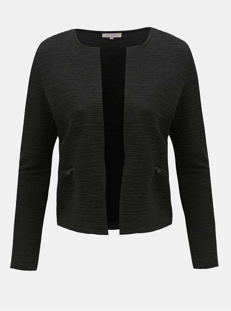 Cardigan negru cu striatii ONLY CARMAKOMA Sky