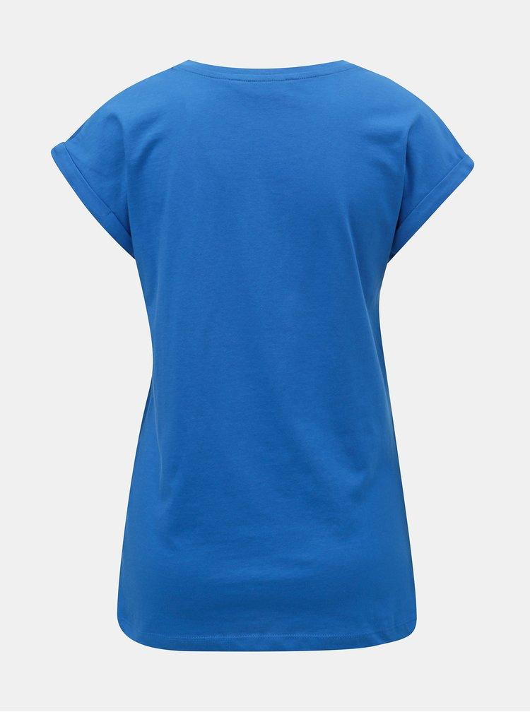 Modré basic tričko Dorothy Perkins Tall