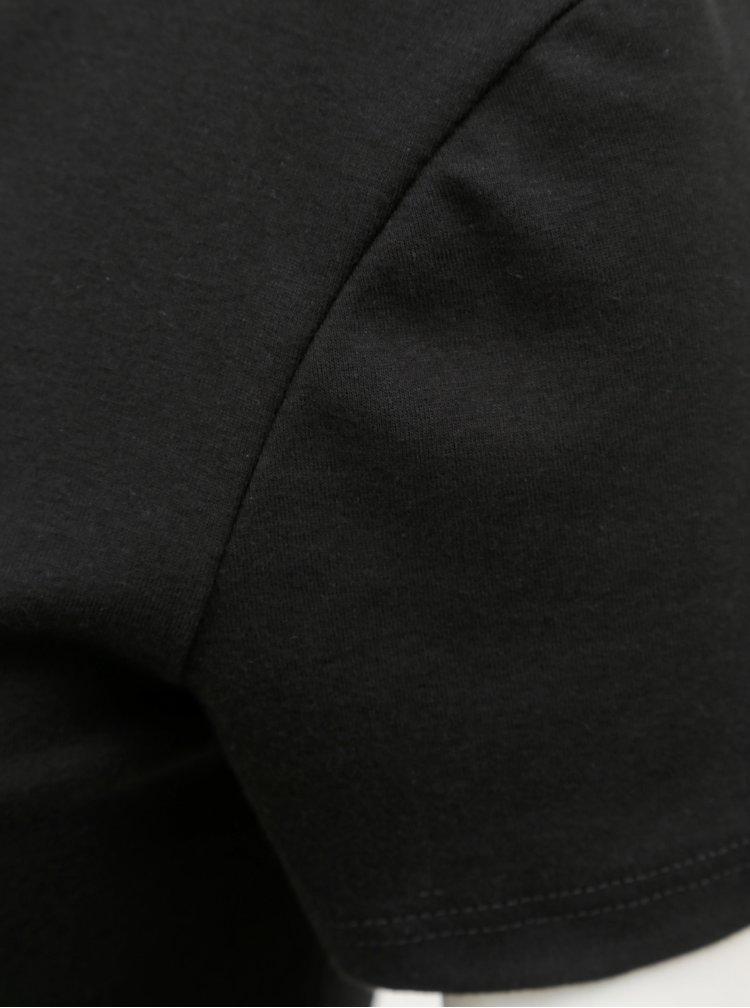 Tricou negru basic Dorothy Perkins Tall