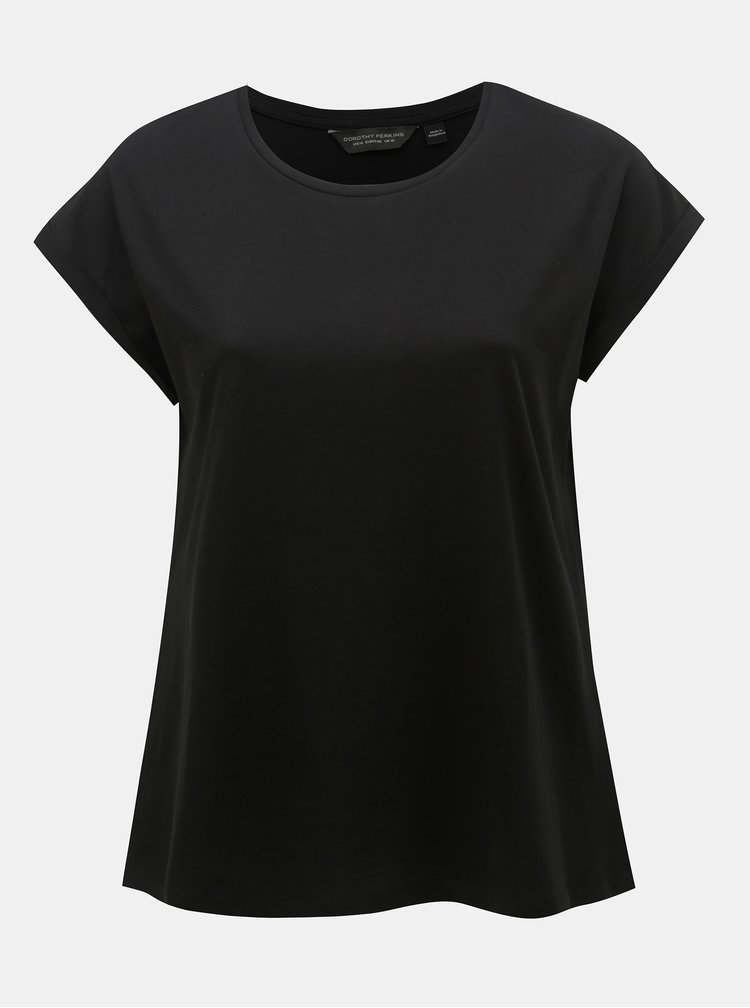 Černé basic tričko Dorothy Perkins Curve