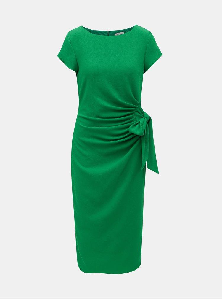 Zelené puzdrové šaty Lily & Franc by Dorothy Perkins
