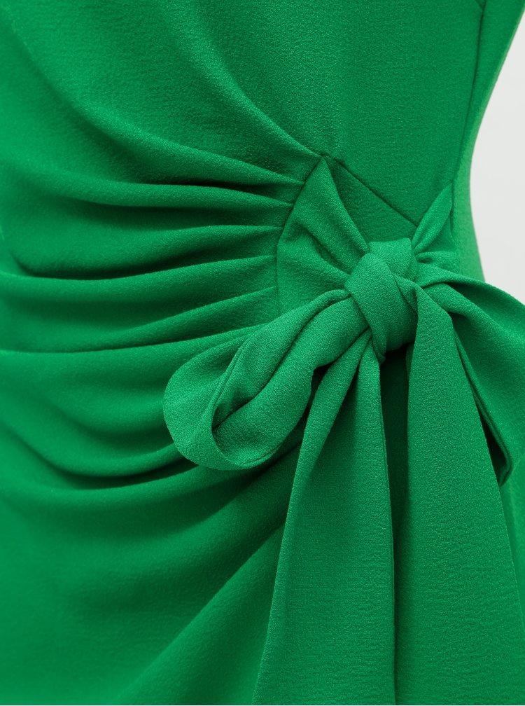 Zelené pouzdrové šaty Lily & Franc by Dorothy Perkins