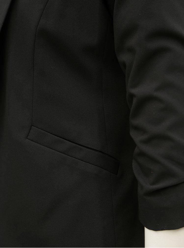 Sacou negru cu maneci 3/4 Dorothy Perkins