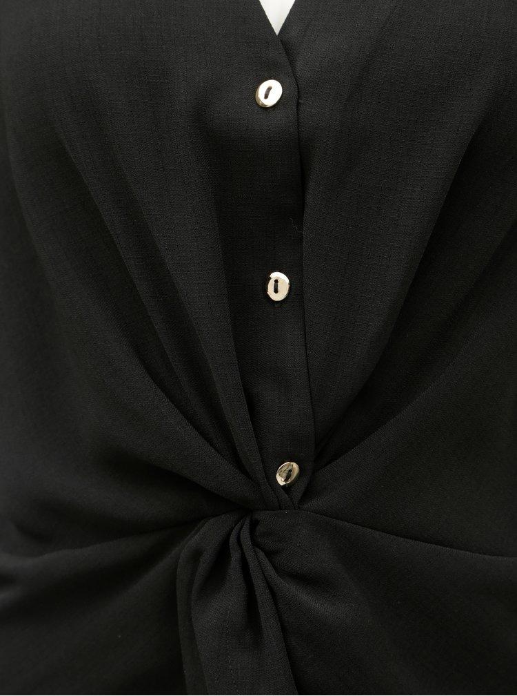 Čierna blúzka Dorothy Perkins