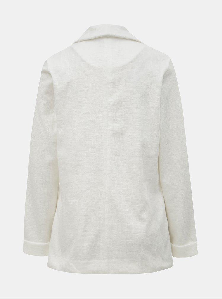 Biele sako s vreckami Dorothy Perkins