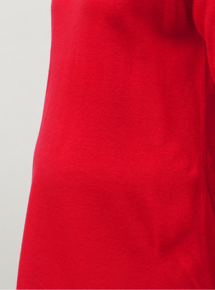 Červený těhotenský svetr s průstřihem na zádech Dorothy Perkins Maternity