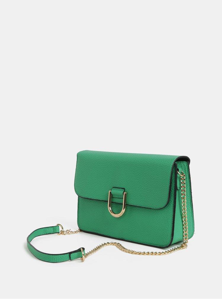 Zelená crossbody kabelka Dorothy Perkins