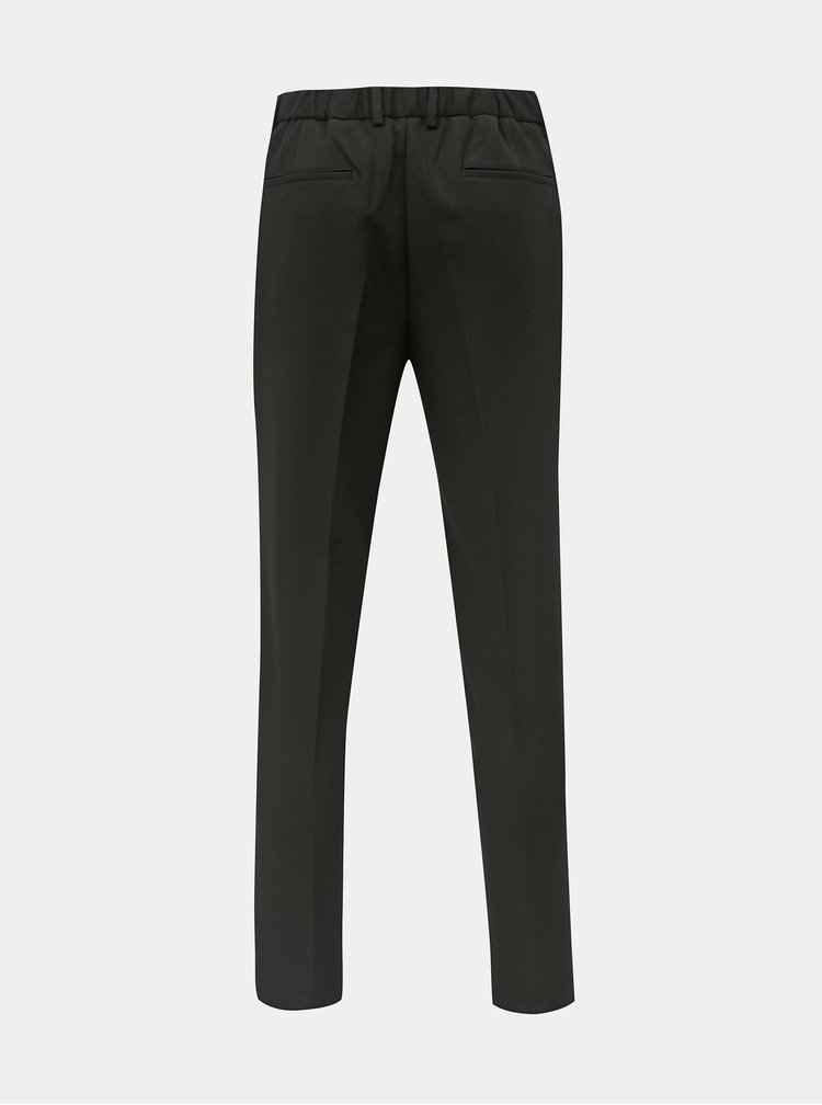 Pantaloni negri tapered fit Selected Homme Paul