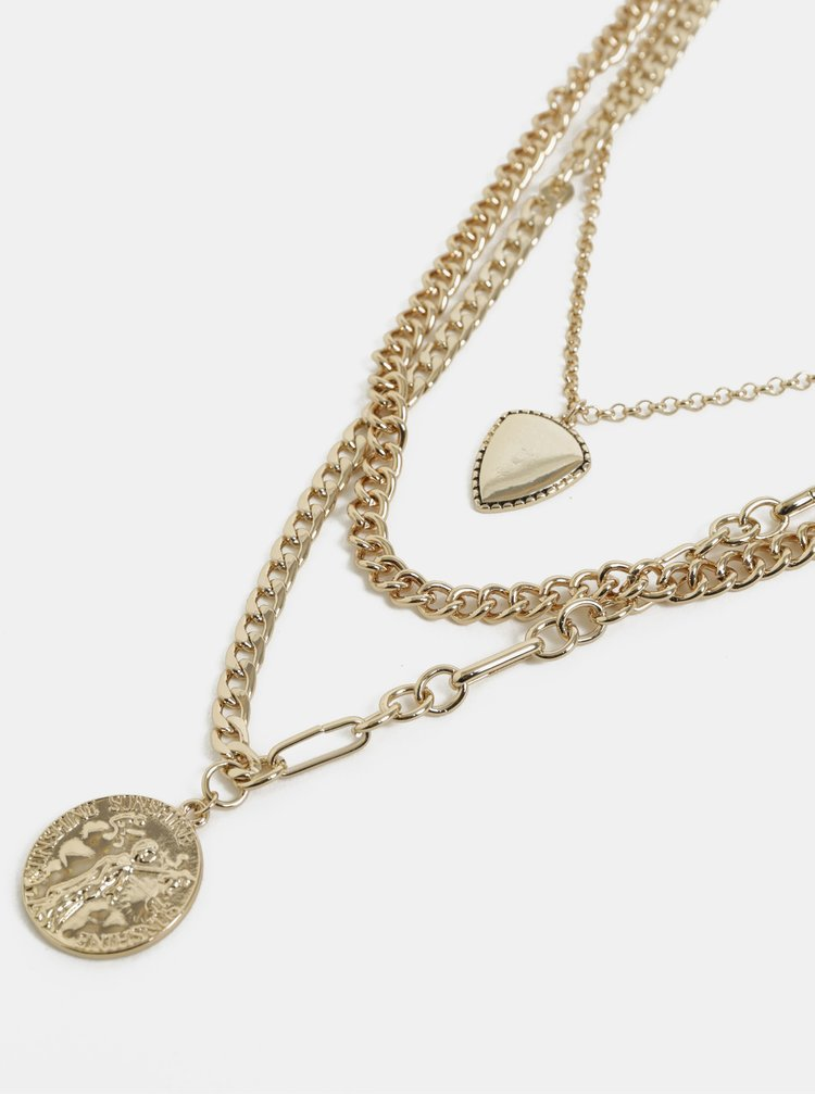 Colier auriu Pieces Julia
