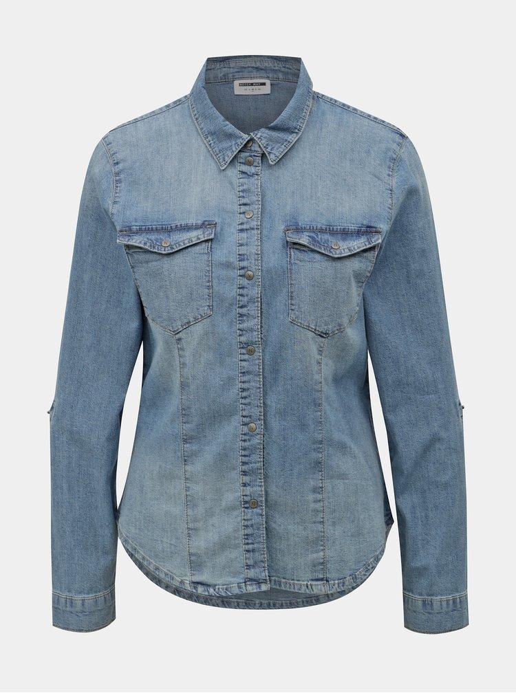 Modrá džínová košile Noisy May Dilem