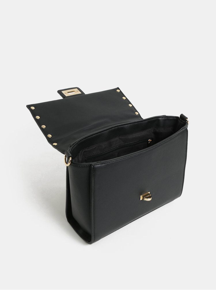 Černá prošívaná kabelka Dorothy Perkins