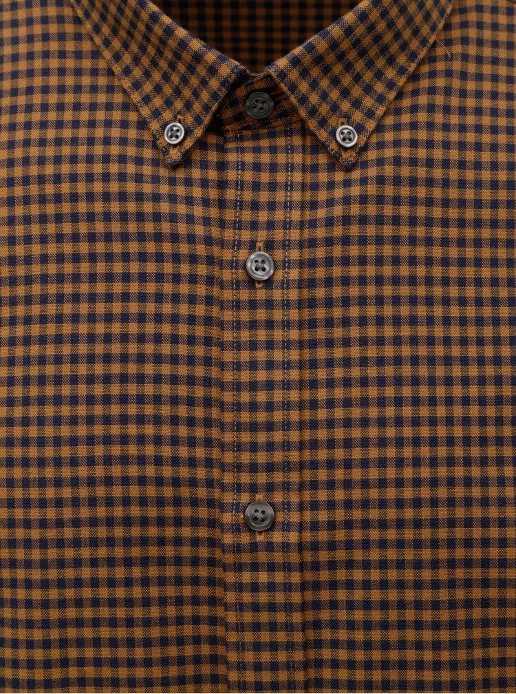 Camasa negru-maro in carouri Burton Menswear London