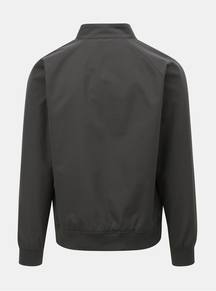 Tmavě šedá lehká bunda Burton Menswear London