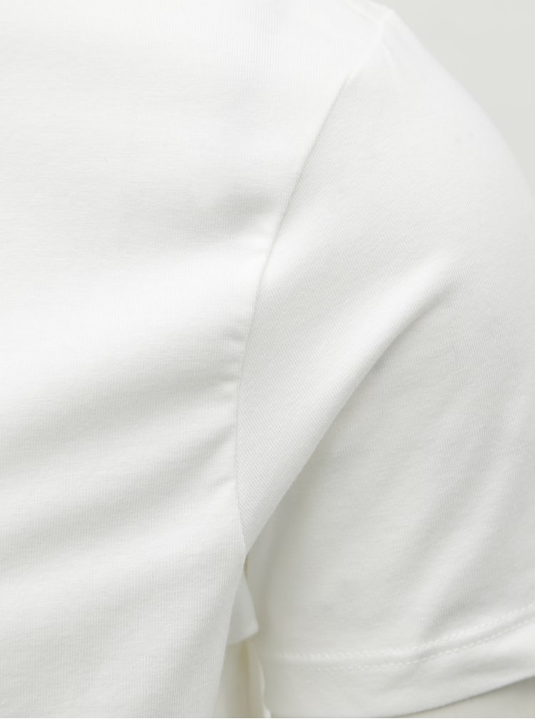 Tricou alb muscle fit basic Burton Menswear London