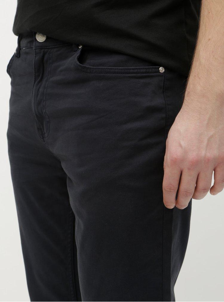 Blugi albastru inchis slim Burton Menswear London