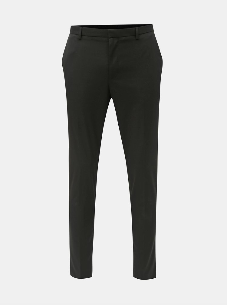 Pantaloni negri super skinny fit Burton Menswear London