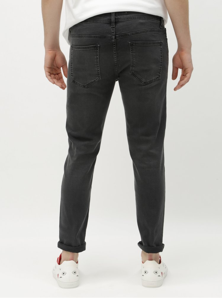Šedé skinny džíny Burton Menswear London