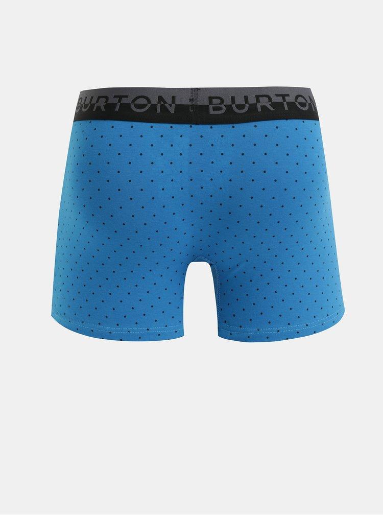 Balenie troch boxeriek v modrej a sivej farbe Burton Menswear London