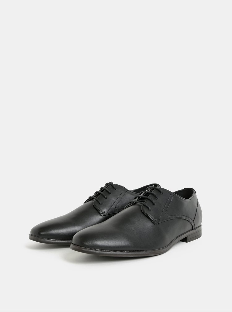 Pantofi barbatesti negri Burton Menswear London