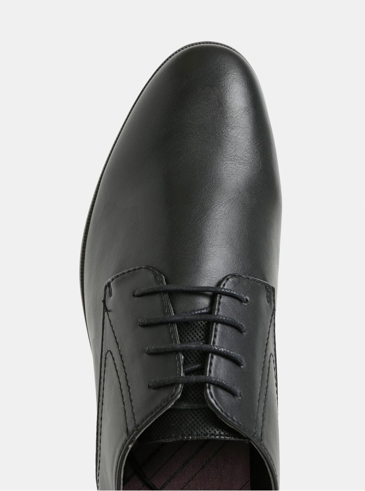 Čierne pánske poltopánky Burton Menswear London